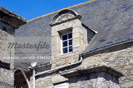 France, Pays de la Loire, Piriac-sur-Mer, architectural detail