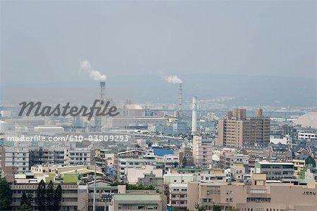 Chine, Taiwan, Changhua, vue générale
