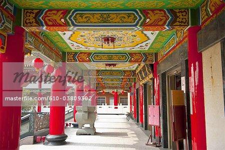 Chine, Taiwan, Changhua, temple bouddhiste