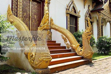 Thaïlande, Chiang Mai, temple Wat Chiang Man