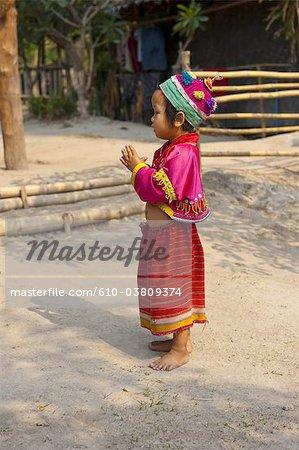 Enfant de la Thaïlande, le Baan Thong Luang,