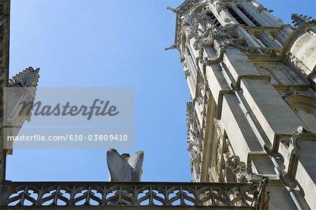 France, Paris, église de saint germain l'Auxerrois, ange