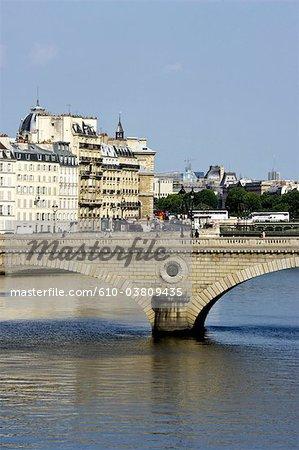 France, Paris, pont Louis-Philippe