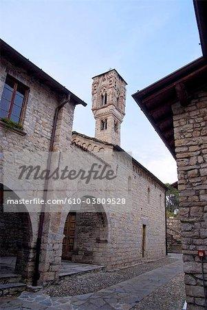 Italie, Lombardie, lac de Côme, église Santa Maria del Tiglio Gravedona