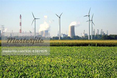 Belgium, Antwerp, Atomic power station