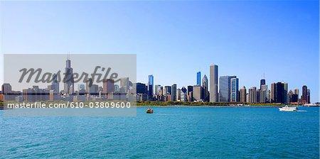 États-Unis, Illinois, Chicago, vue générale