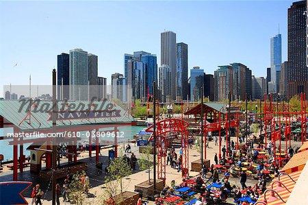United States, Illinois, Chicago, Navy pier