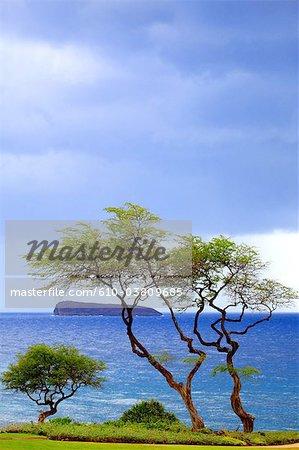 United States, Hawaii, island of Maui, view on Molokini