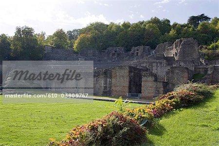 France, Rhone Alpes, Lyon, Odéon romain de Fourvière