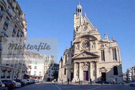 France, Paris, église Saint Etienne du Mont