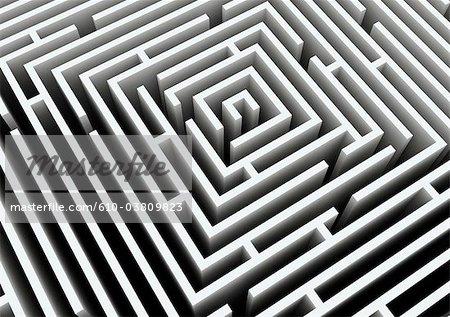 Création numérique : labyrinthe