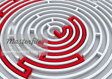 Digital creation : labyrinth
