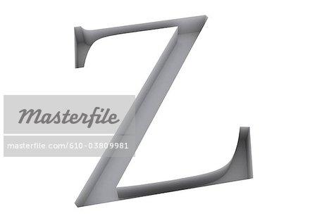 Typografie: Buchstabe Z