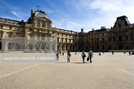 France, Paris (75), Ile de France, the Louvre
