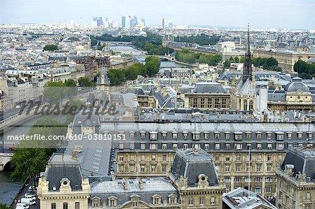 France, Paris (75), Ile de France, Paris from Notre Dame