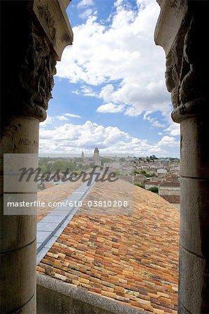 France, Poitou Charentes, Saintes de l'abbaye aux dames