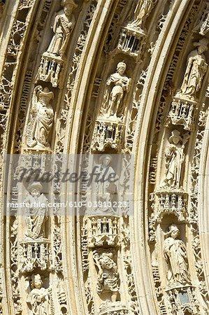 France, Poitou Charentes, Saintes, la cathédrale Saint Pierre