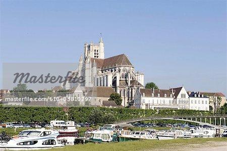 France, cathédrale de Bourgogne, Auxerre, St Etienne
