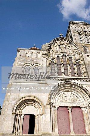 France, Bourgogne, Vézelay, Abbaye de Vézelay