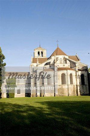 France, Burgundy, Vezelay, Vezelay abbey