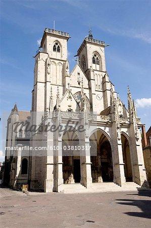 France, Bourgogne, Semur-en-Auxois, l'église Notre Dame