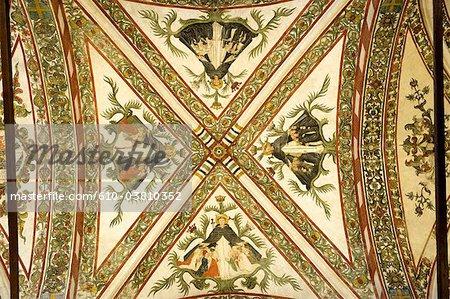 Nef église, de l'Italie, Vérone, Sant'Anastasia
