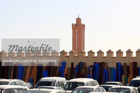 Vendeur de Maroc, Agadir, dans le souk