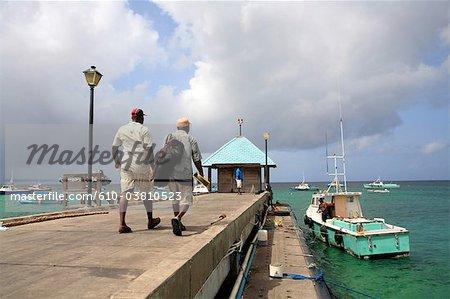 Barbade, Oistins, le port