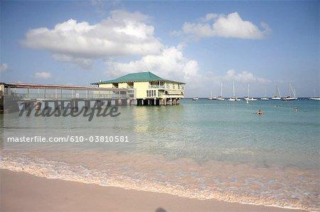 Barbados, Carlisle Bay, Pension