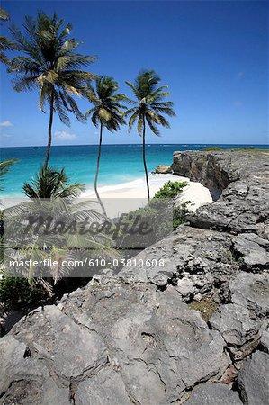 Barbados, Bottom Bay, white sand beach