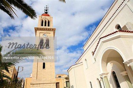 Grèce, Crète, Rethymnon, l'église