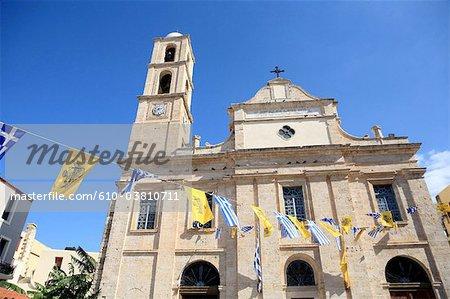 Grèce, Crète, la Canée, la cathédrale