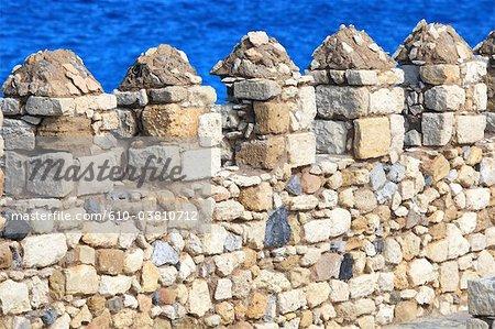 Greece, Crete, Heraklion, venitian fort, detail