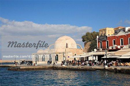 Grèce, Crète, la Canée, la mosquée