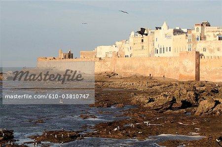 Maroc, Essaouira, remparts de la médina