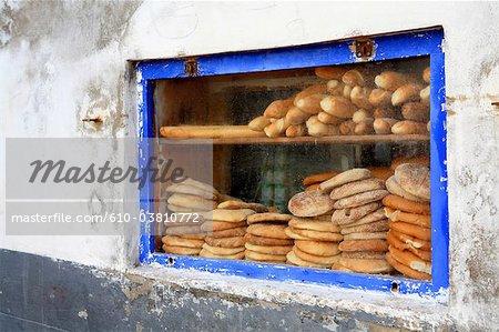 Maroc, Essaouira, le souk, baker