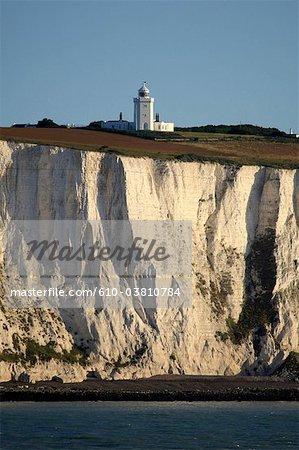 Angleterre, Kent, falaises de Douvres