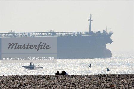 France, Normandie, Le Havre, navire