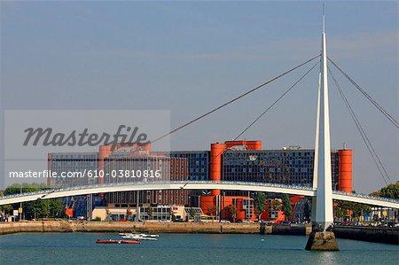 France, Normandie, Le Havre, pont de Normandie