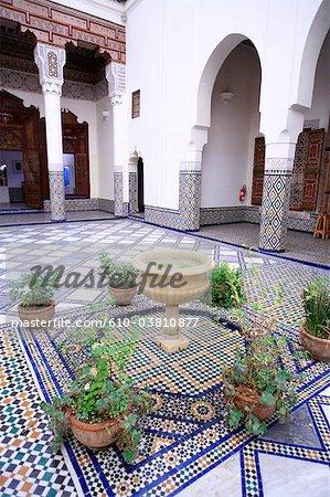 Morocco, Marrakech, museum