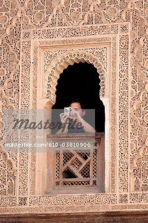 Maroc, Marrakech, Ben Youssef madrasa