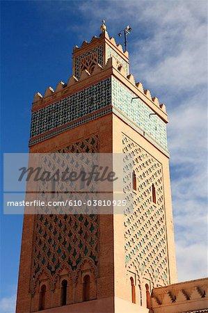 Mosquée de la Koutoubia de Marrakech, Maroc