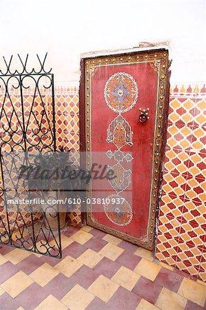 Morocco, Marrakech, inside a house