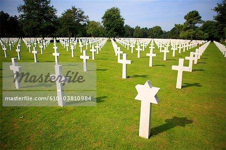 France, Normandie, Colleville sur Mer, cimetière américain