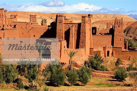 Au Maroc, Haut Atlas, près d'Ouarzazate, Aït-Ben-Haddou