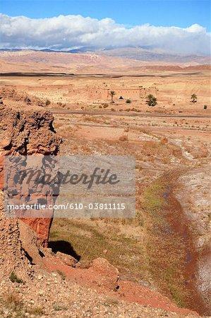 Morocco, High Atlas, near Ourzazate, Aguilal