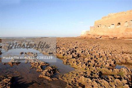 Aglou plage de Tiznit, Maroc