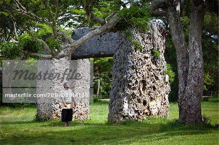 Ha'amonga 'a Maui Trilithon, near Niutoua, Tongatapu, Kingdom of Tonga