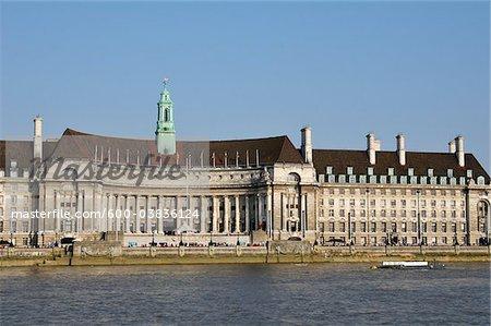 County Hall, Lambeth, South Bank, London, England
