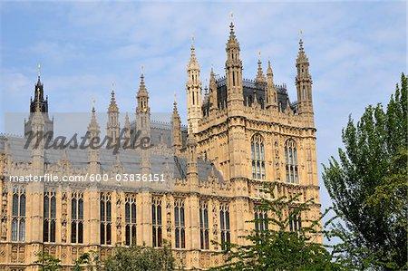 Palais de Westminster, Westminster, Londres, Angleterre